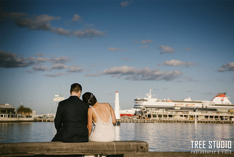 Wedding Location Photos at Princes Pier