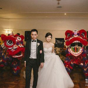 Debby & micheal @ ballara receptions wedding photography