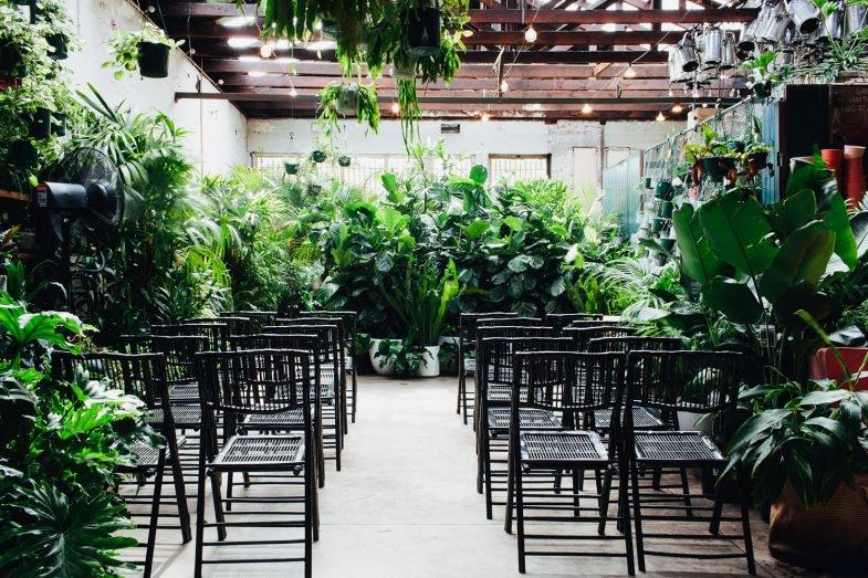 Melbourne Wedding Ceremony Location Glasshaus Inside