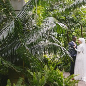 St kilda botanical garden pre-wedding photography