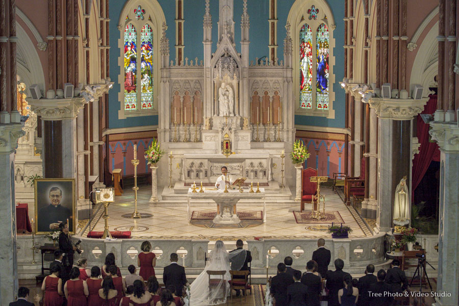 Melbourne Wedding Ceremony Location St Mary Star of the Sea Church