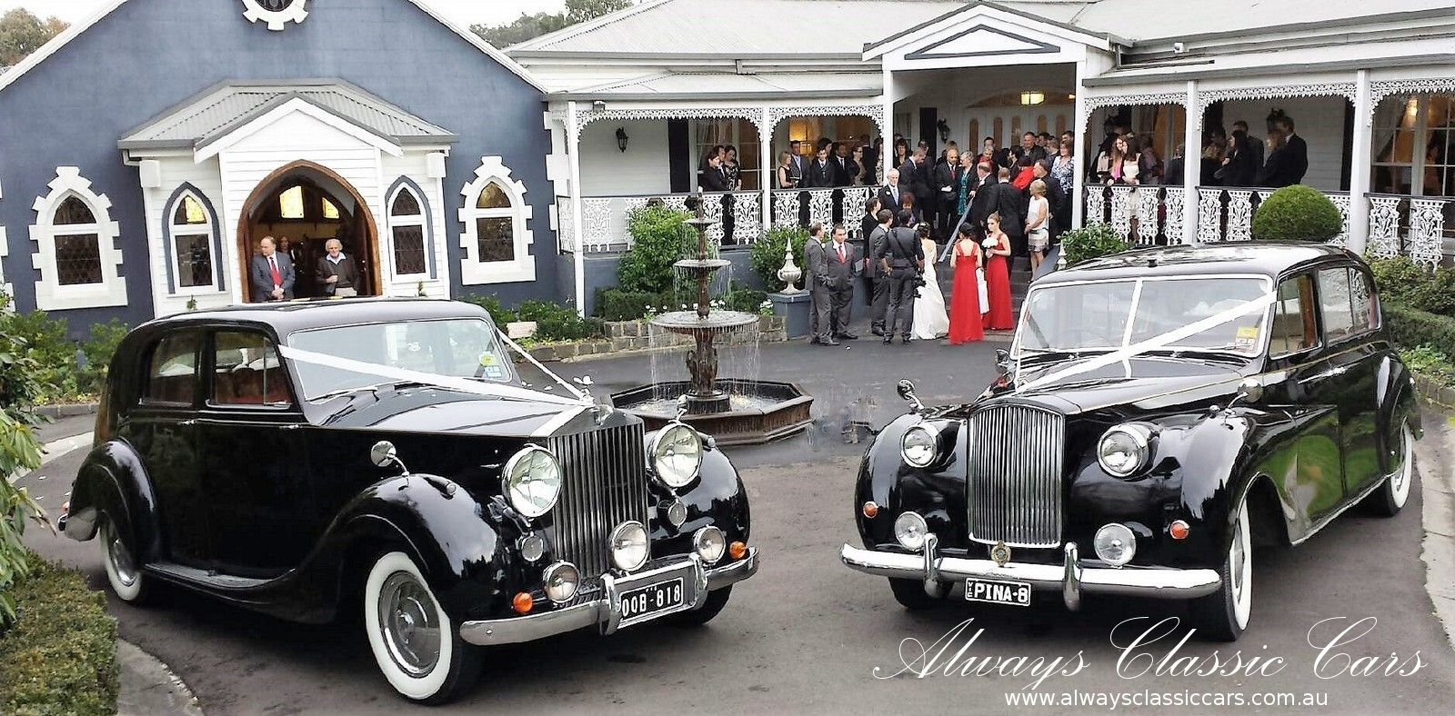 Always Classic Cars for Melbourne Weddings