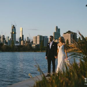 Cat & shannon @ albert park wedding photography