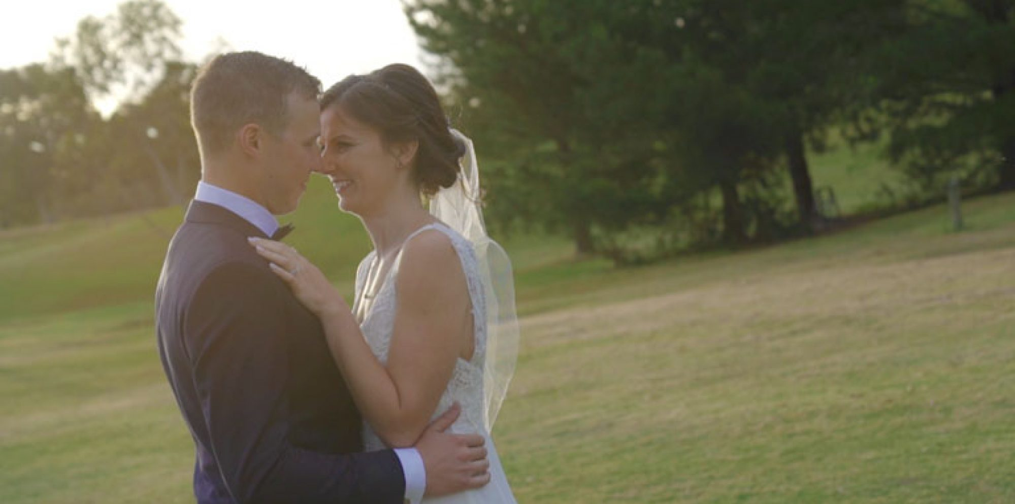 Caitlin & luke @ lawson lodge mount macedon wedding videography