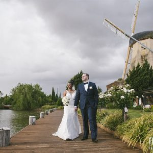 Brenda & luke @ windmill gardens reception wedding photography