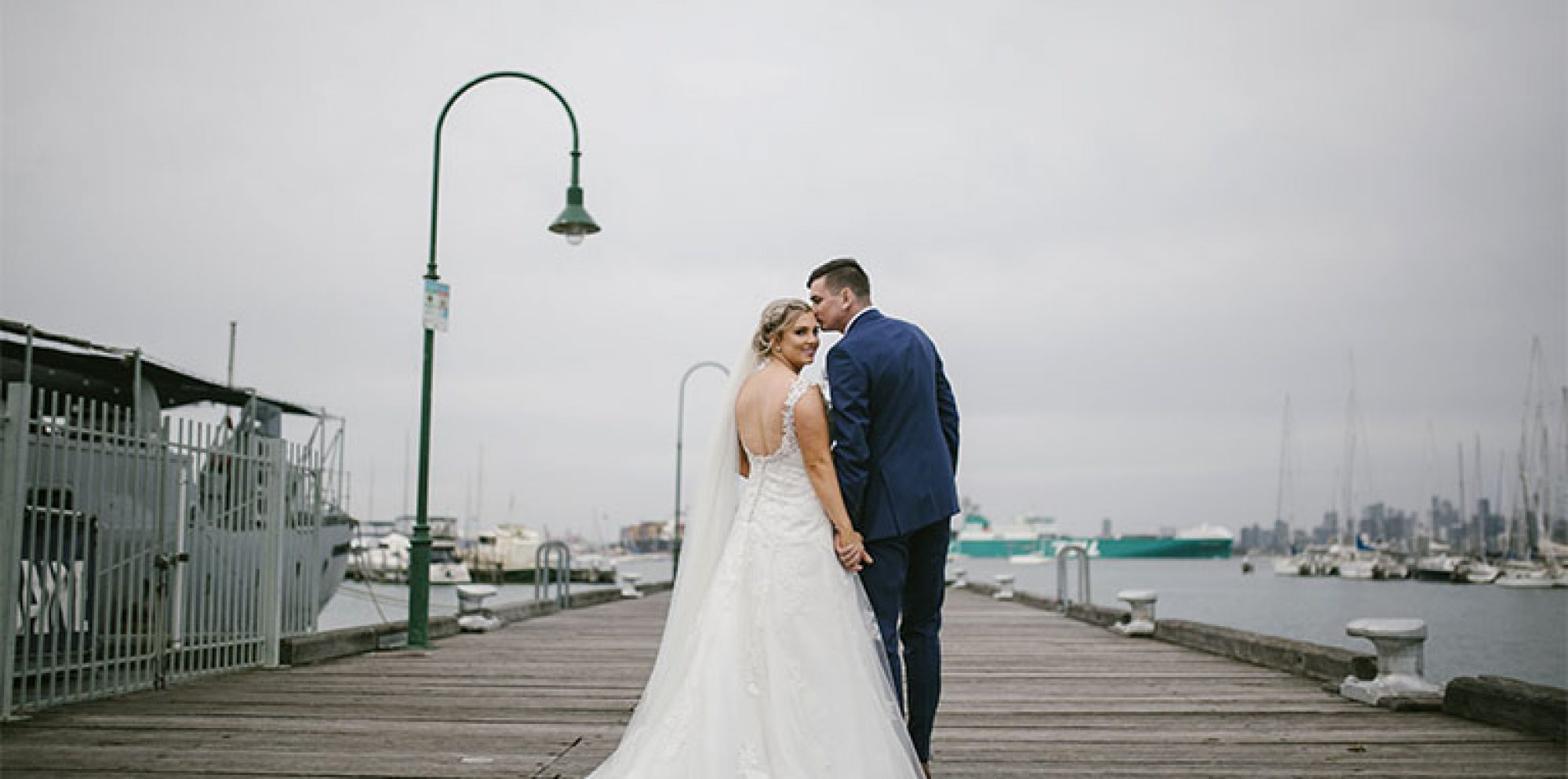 Samantha & robbie @ seaview williamstown wedding photography
