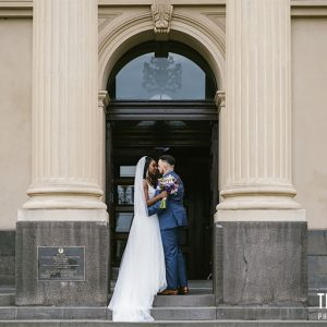 Evan & anesu @ south melbourne wedding photography