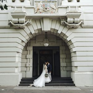 Wedding photography in melbourne city