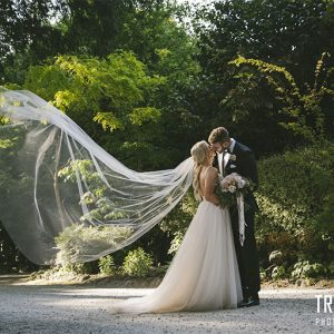 Teghan & michael @ poet's lane receptions