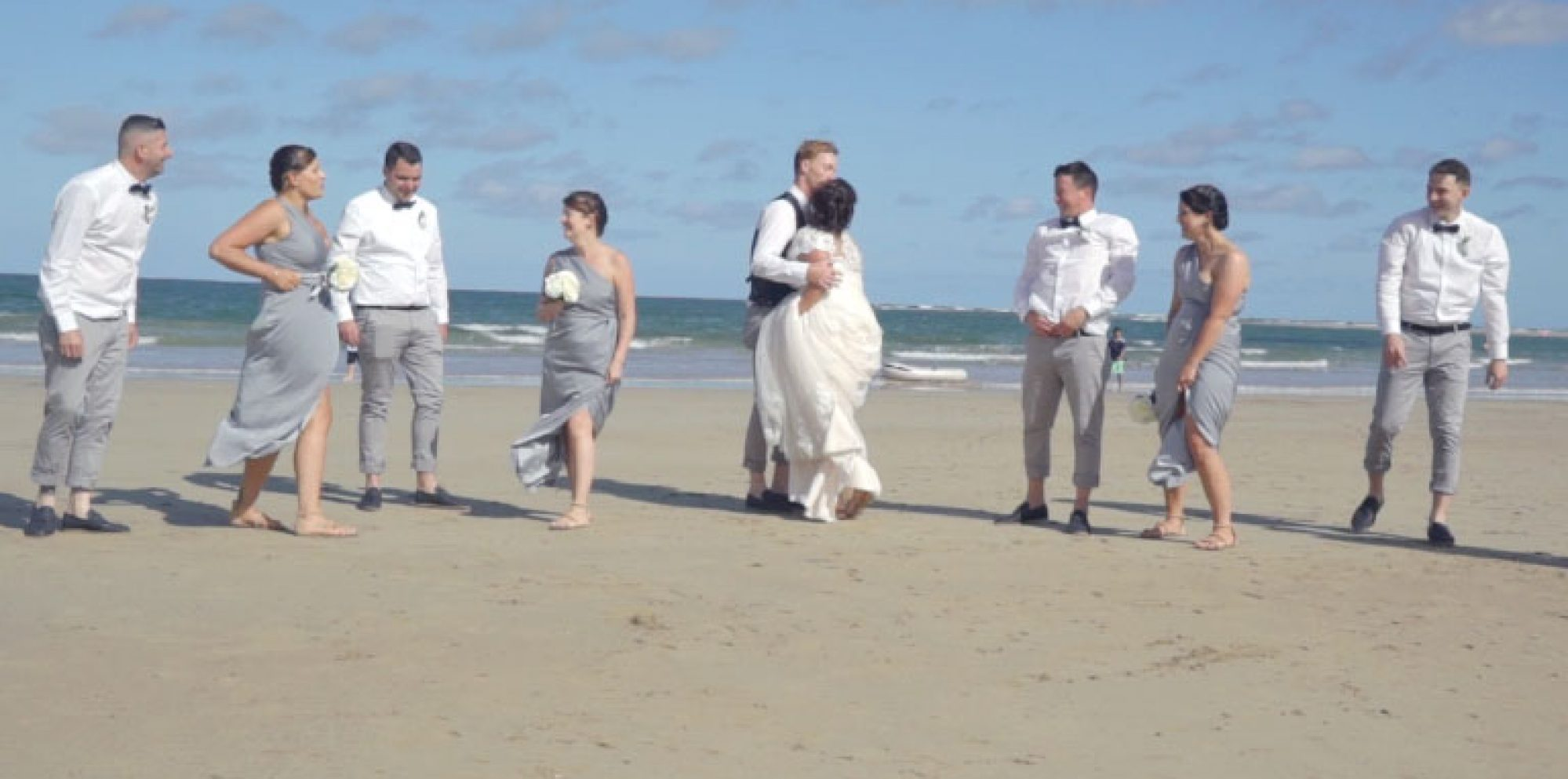 Kristy and jayden @ torquay wedding video