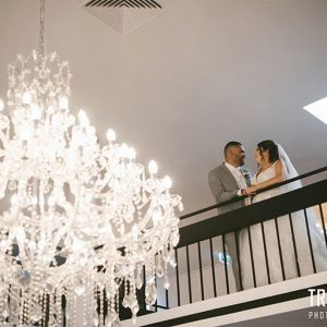 Amy & jonathan @ vogue ballroom wedding photography