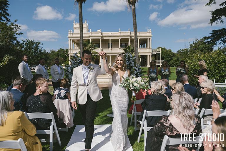 Kamesburgh Gardens Wedding Photography