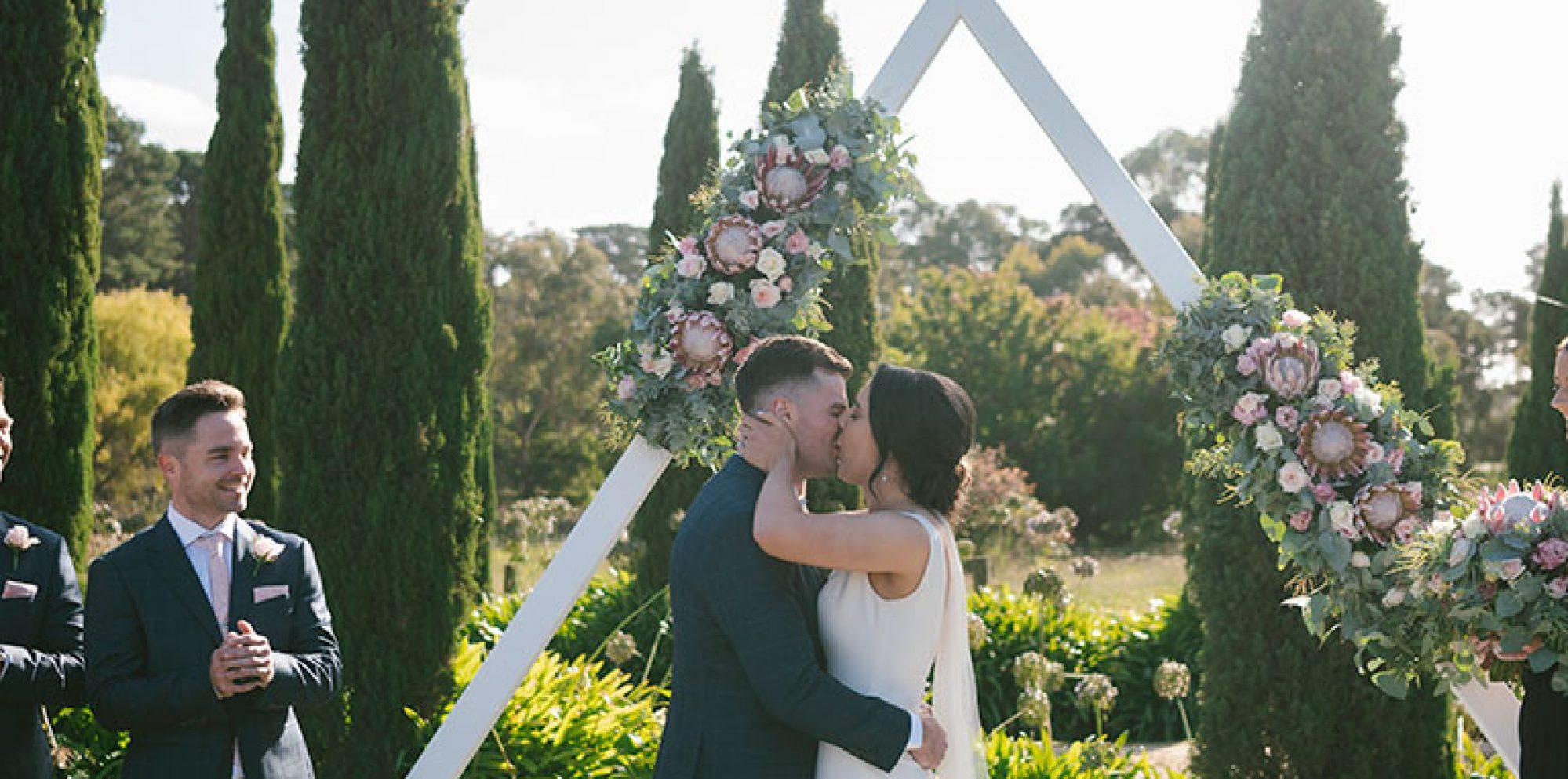 Jacob & sarah melbourne wedding videography @ barn & co