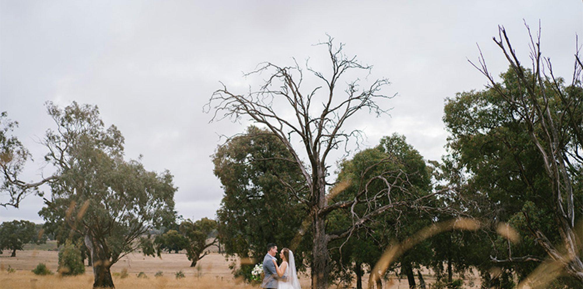 Perri & josh melbourne wedding videography @ eurambeen historic homestead and gardens