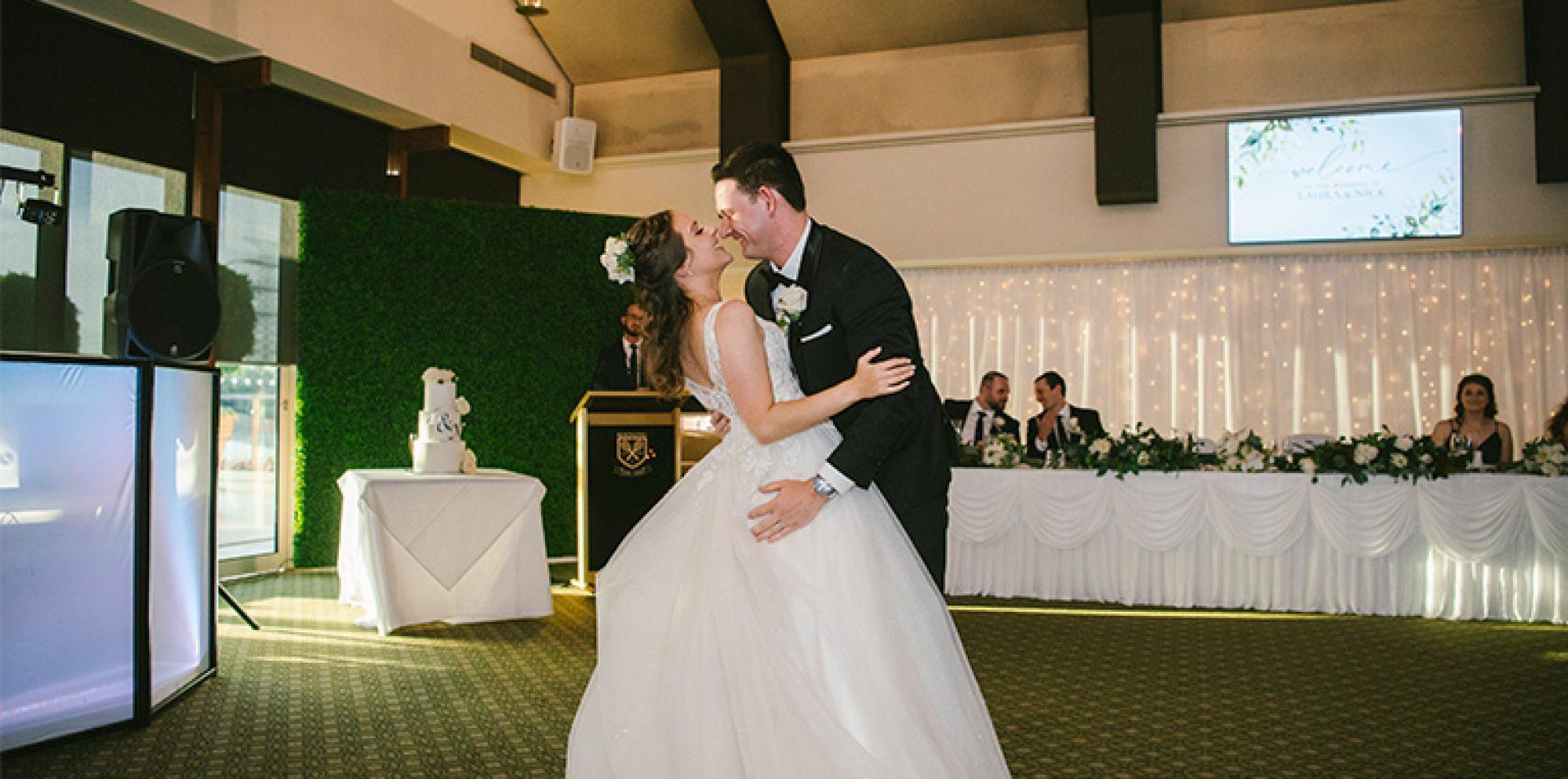 Laura & nick melbourne wedding videography @ kooyong lawn tennis club