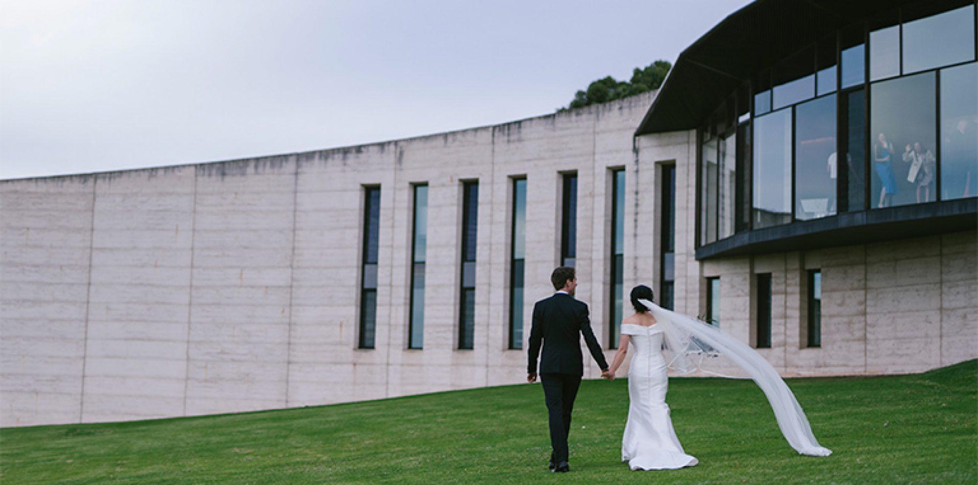 Sandy & daniel wedding photography @ port phillip estate