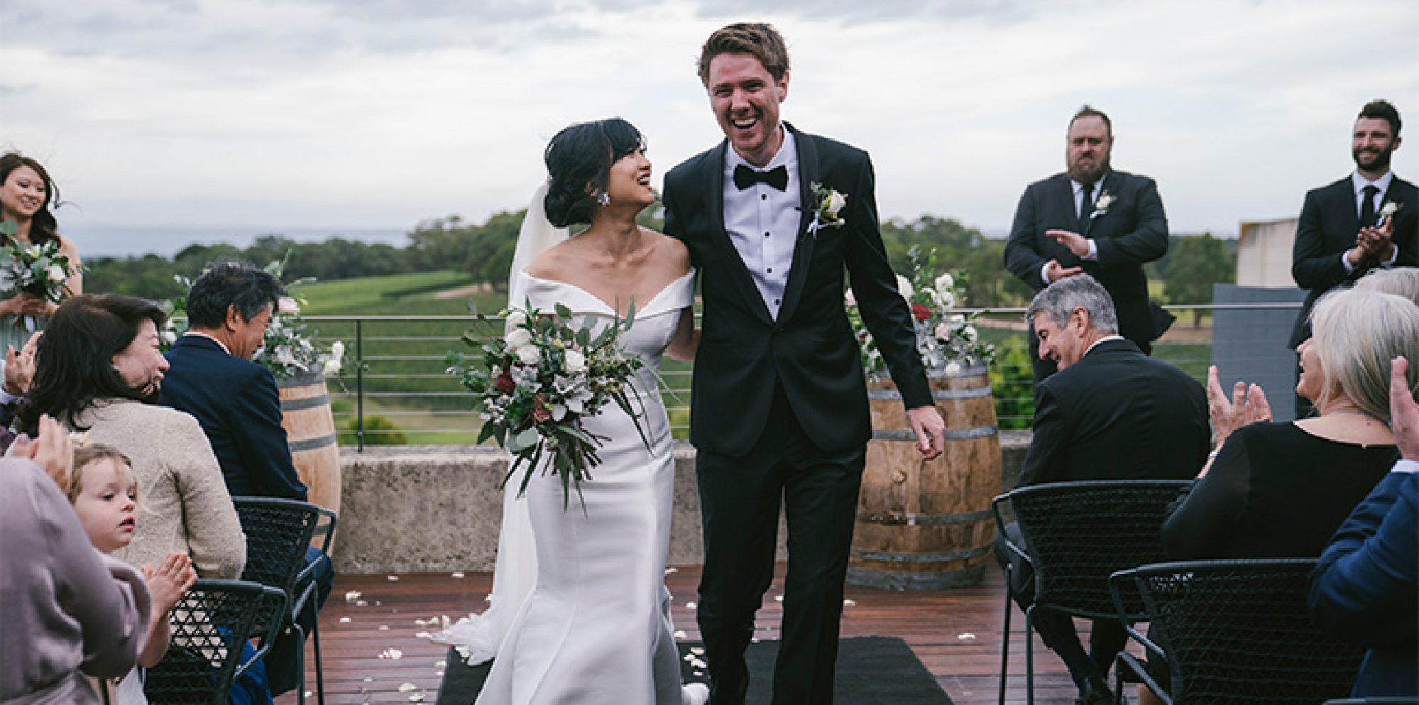 Sandy & daniel wedding videography @ port phillip estate