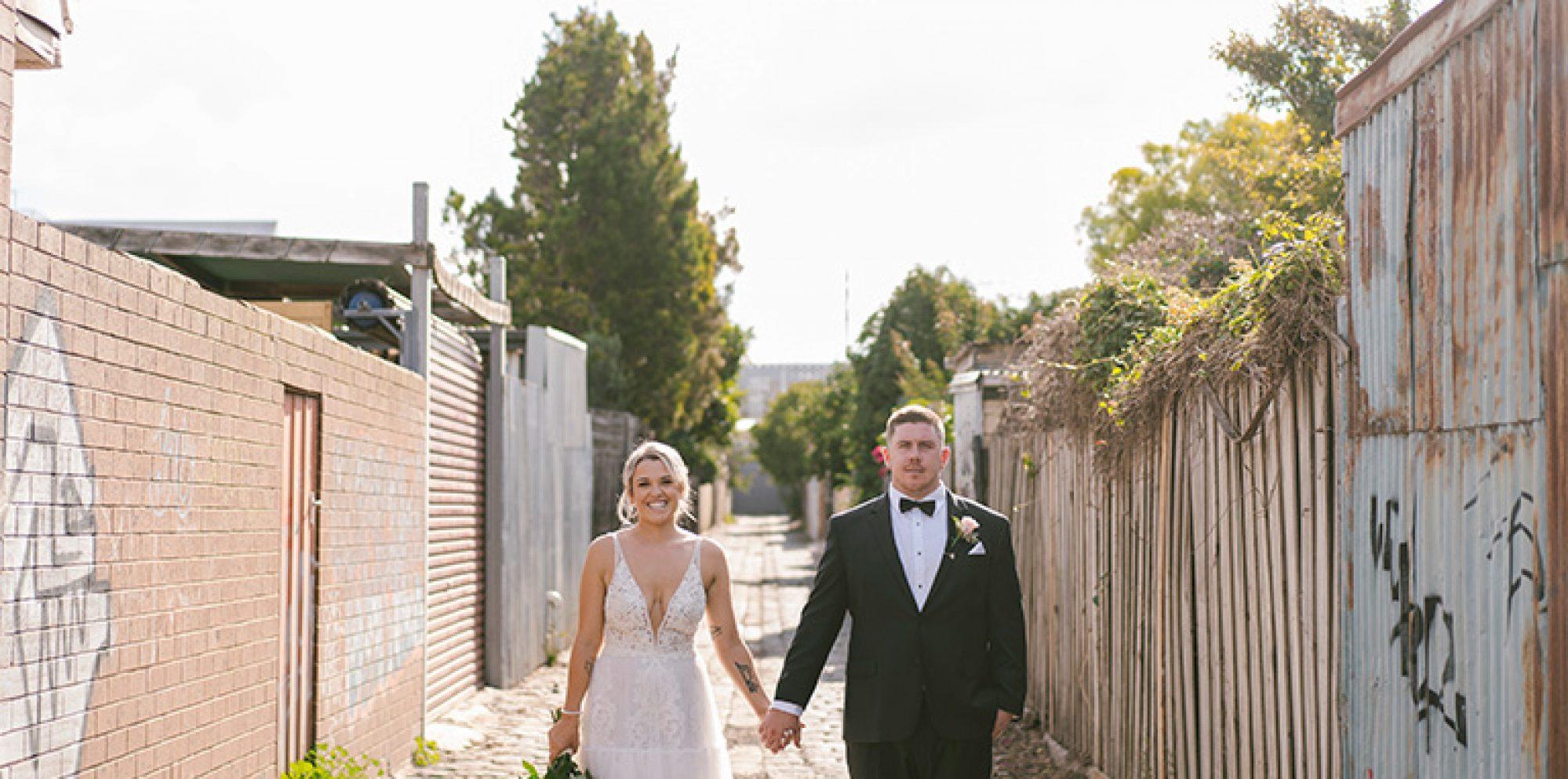 Hollie & brendan wedding photography @ post office hotel