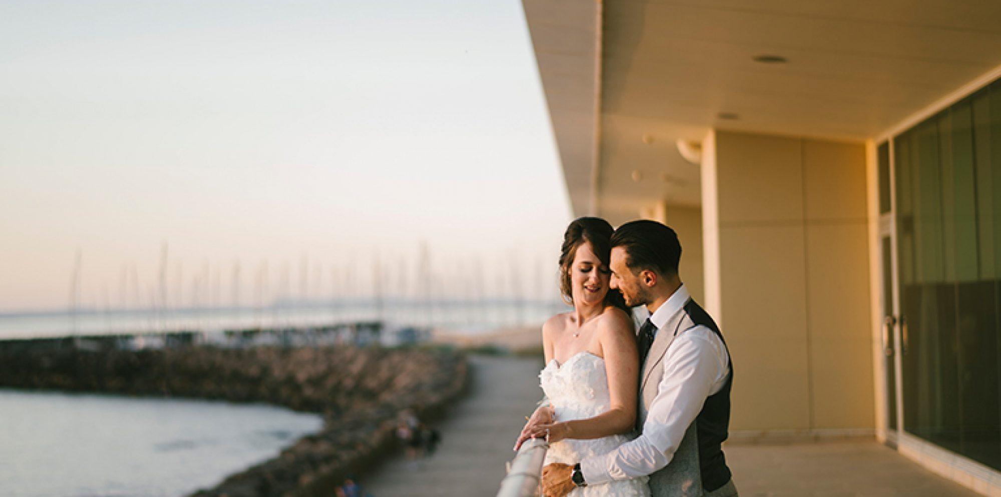 Rania & louis wedding photography @ sandringham yacht club