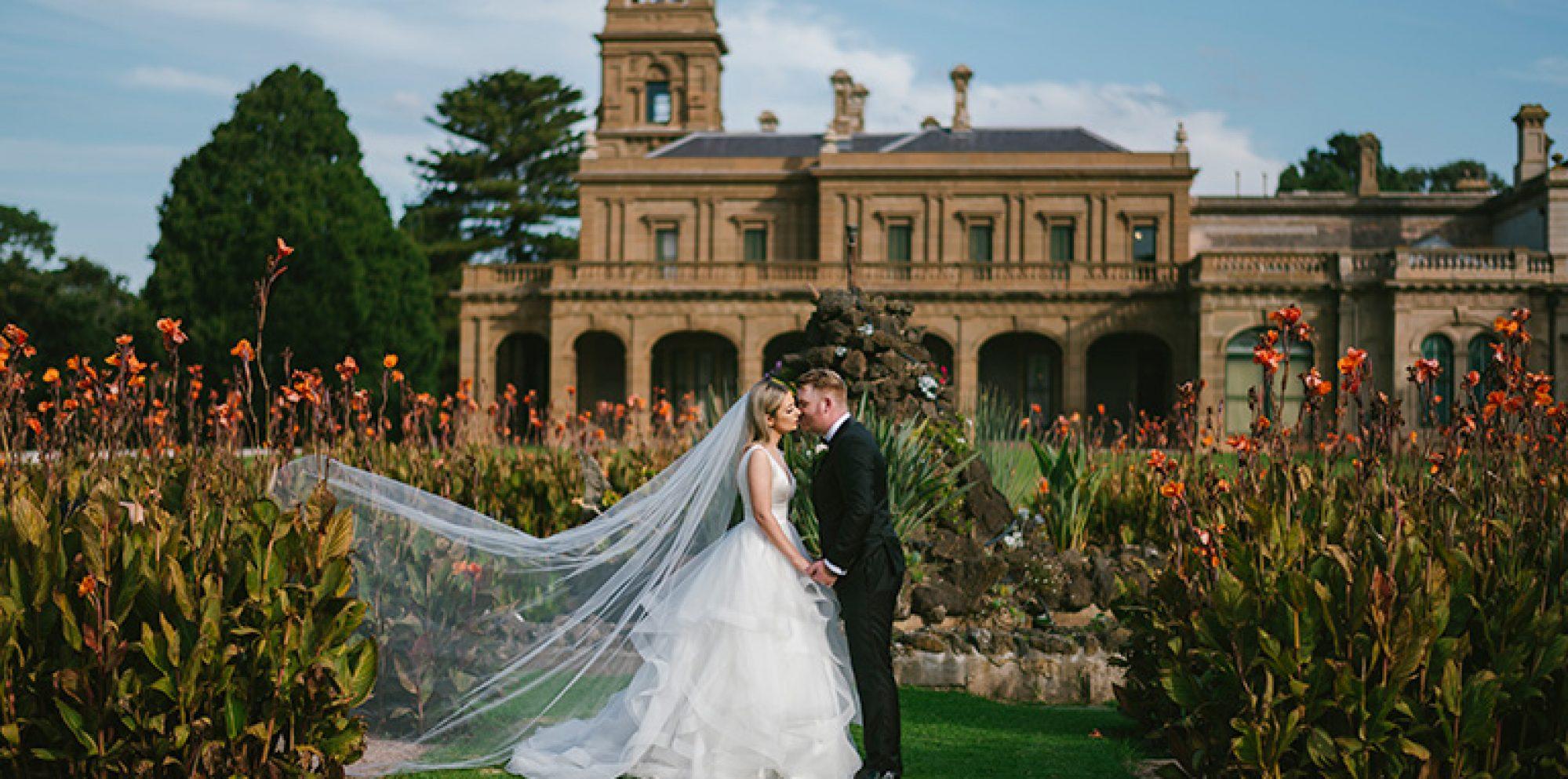 Kristen & darren melbourne wedding videography @ lancemore werribee mansion