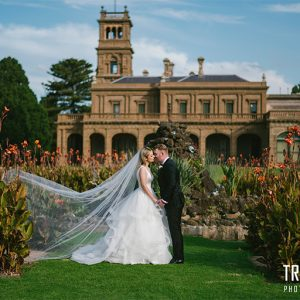 Kristen & darren melbourne wedding videography @ lancemore werribee mansion