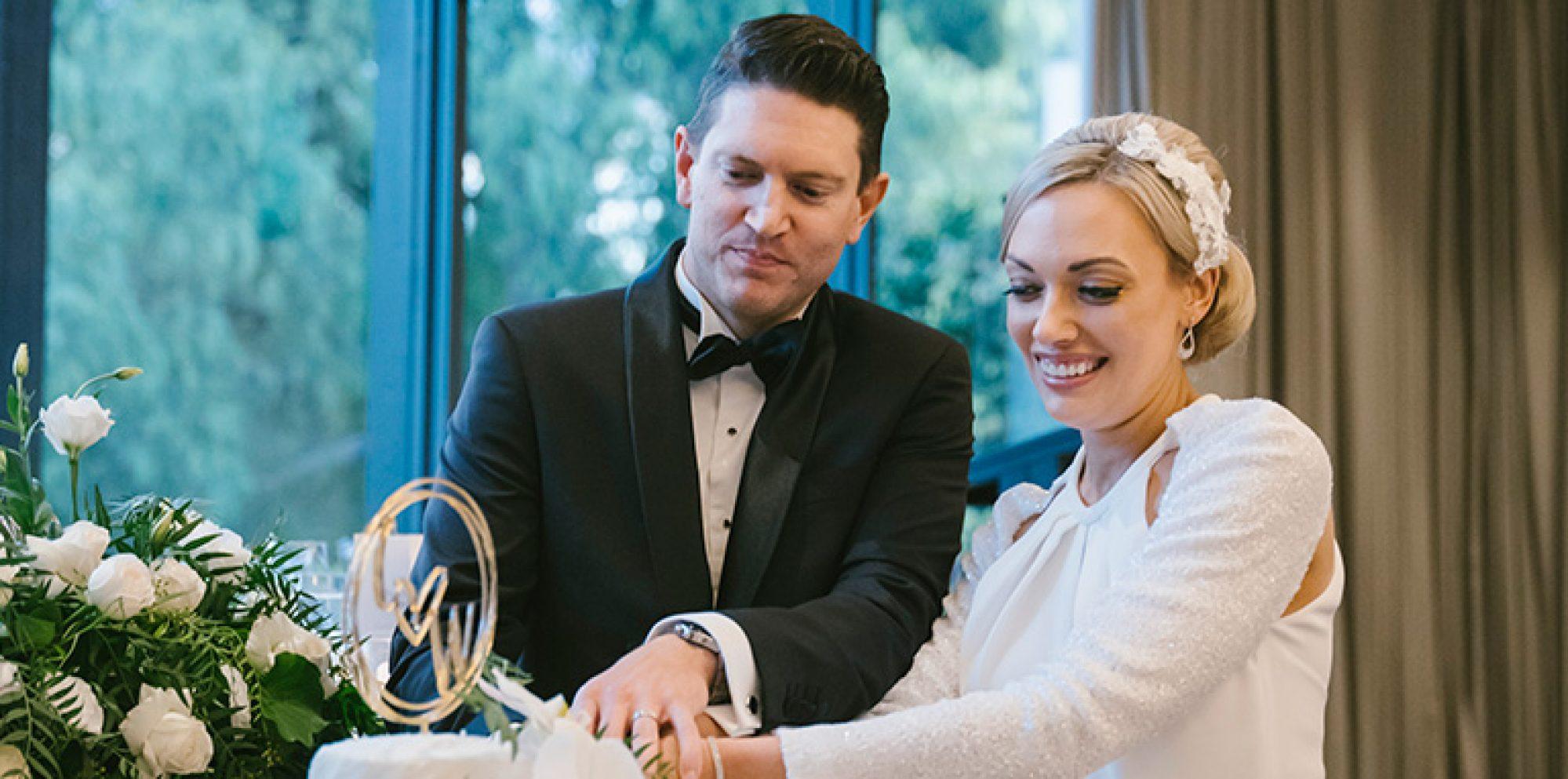 William & chloe wedding photography @ leonda by the yarra