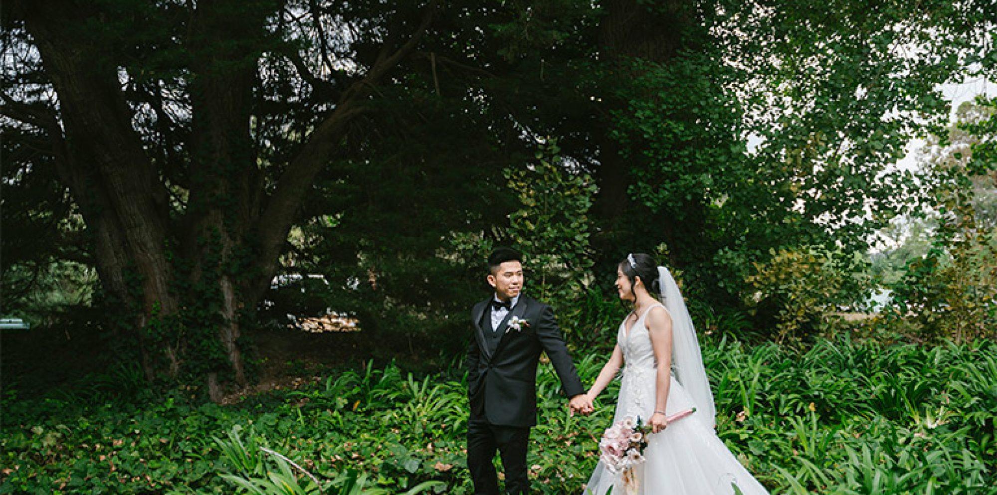 Anita & wilson wedding photography @ leonda by the yarra