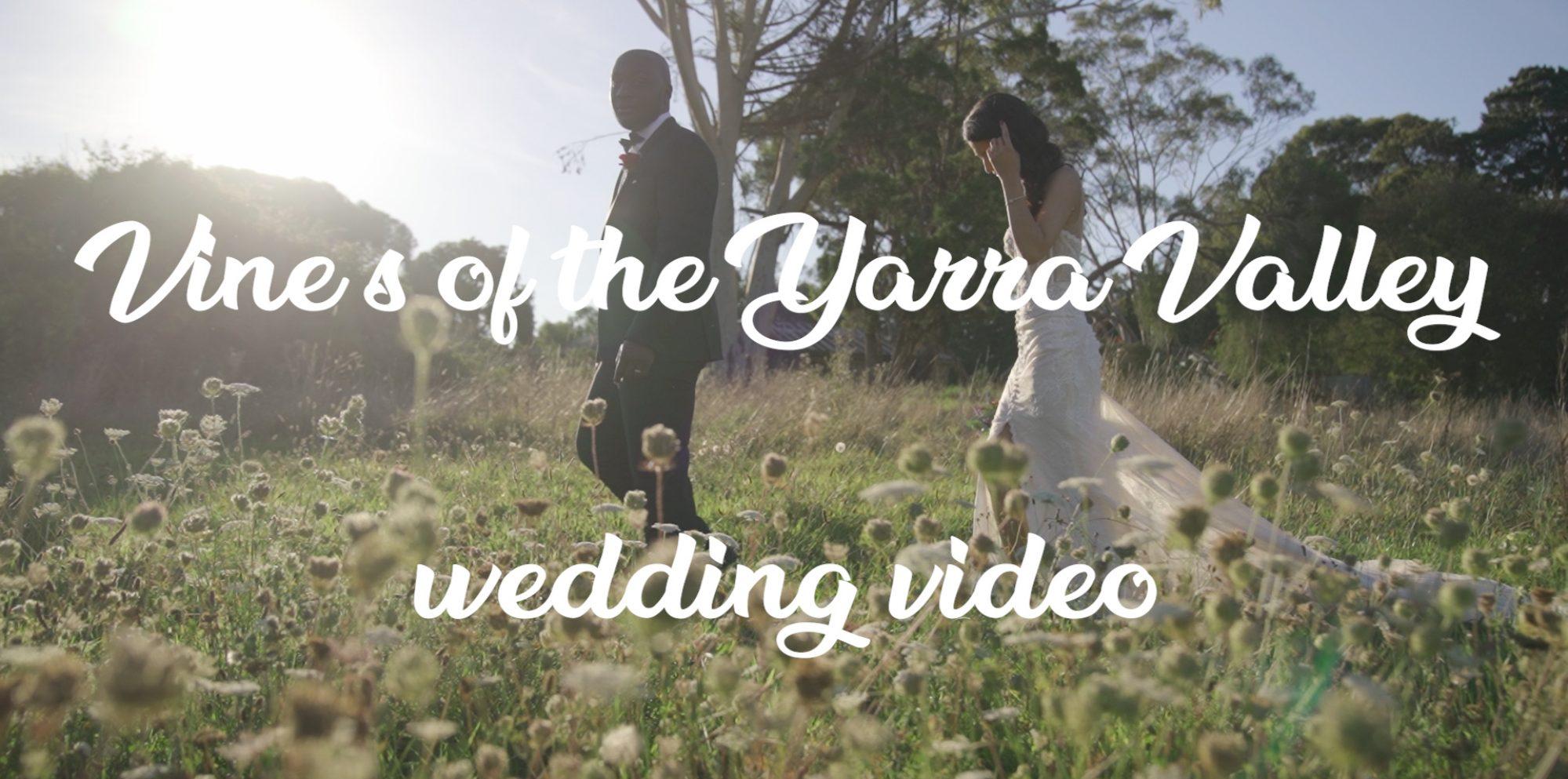 Emily & james melbourne wedding videography @ glasshaus inside