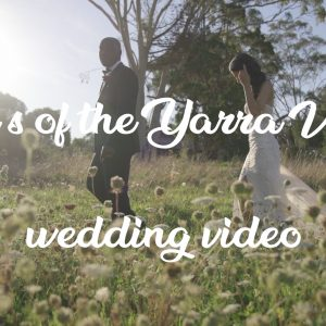 Emily & james melbourne wedding videography @ glasshaus inside