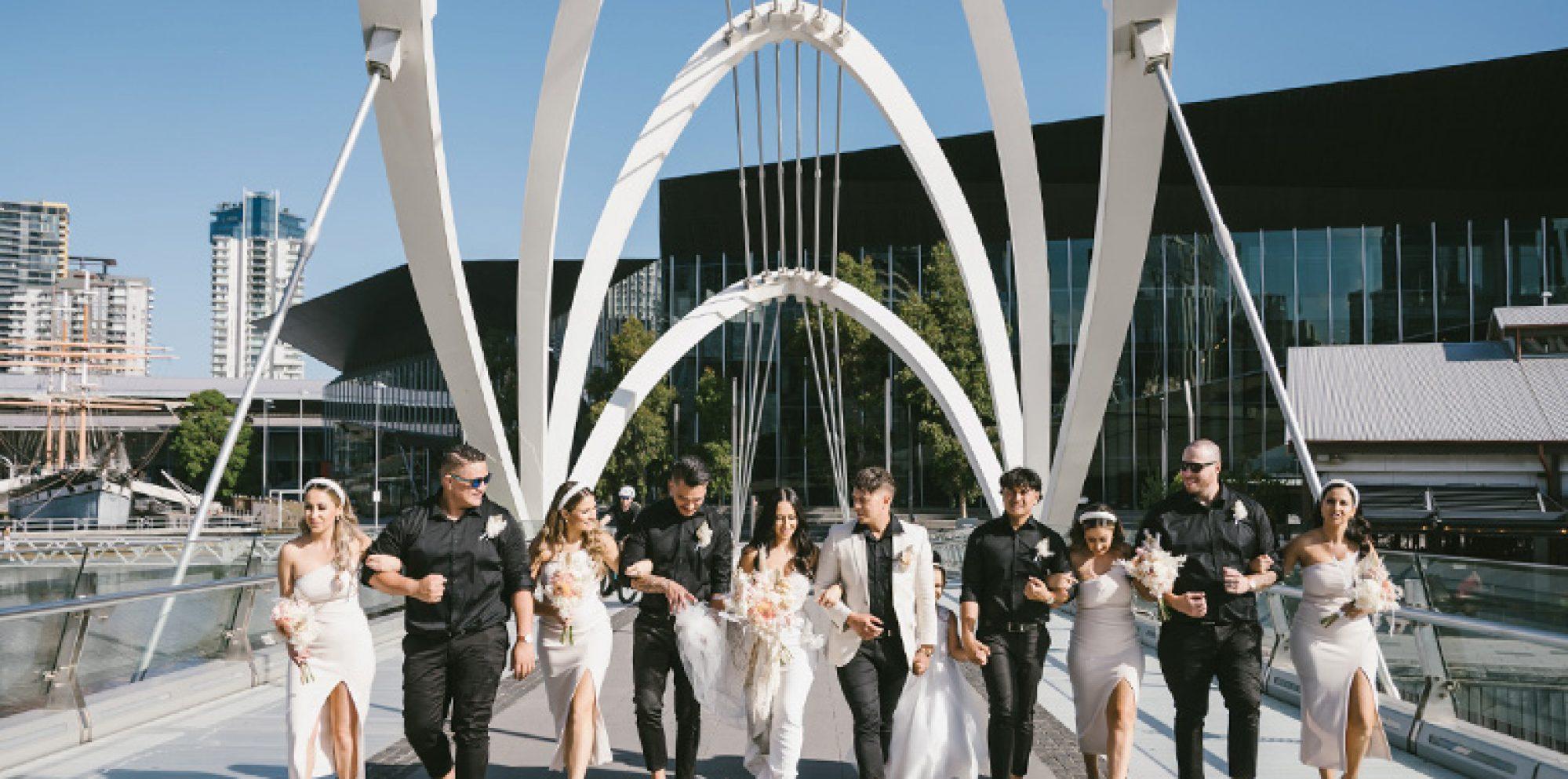 Jayde & daniel wedding photography @ cargo hall