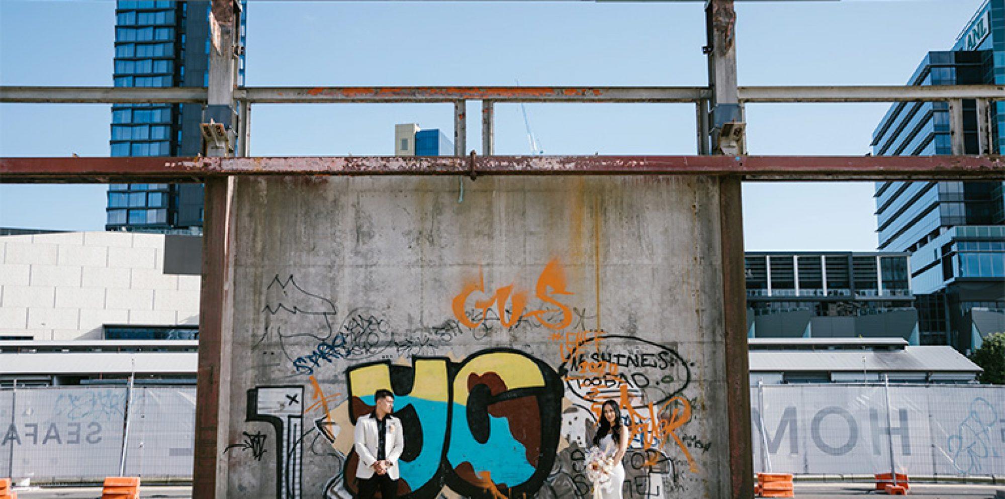 Jayde & daniel melbourne wedding videography @ the cargo hall