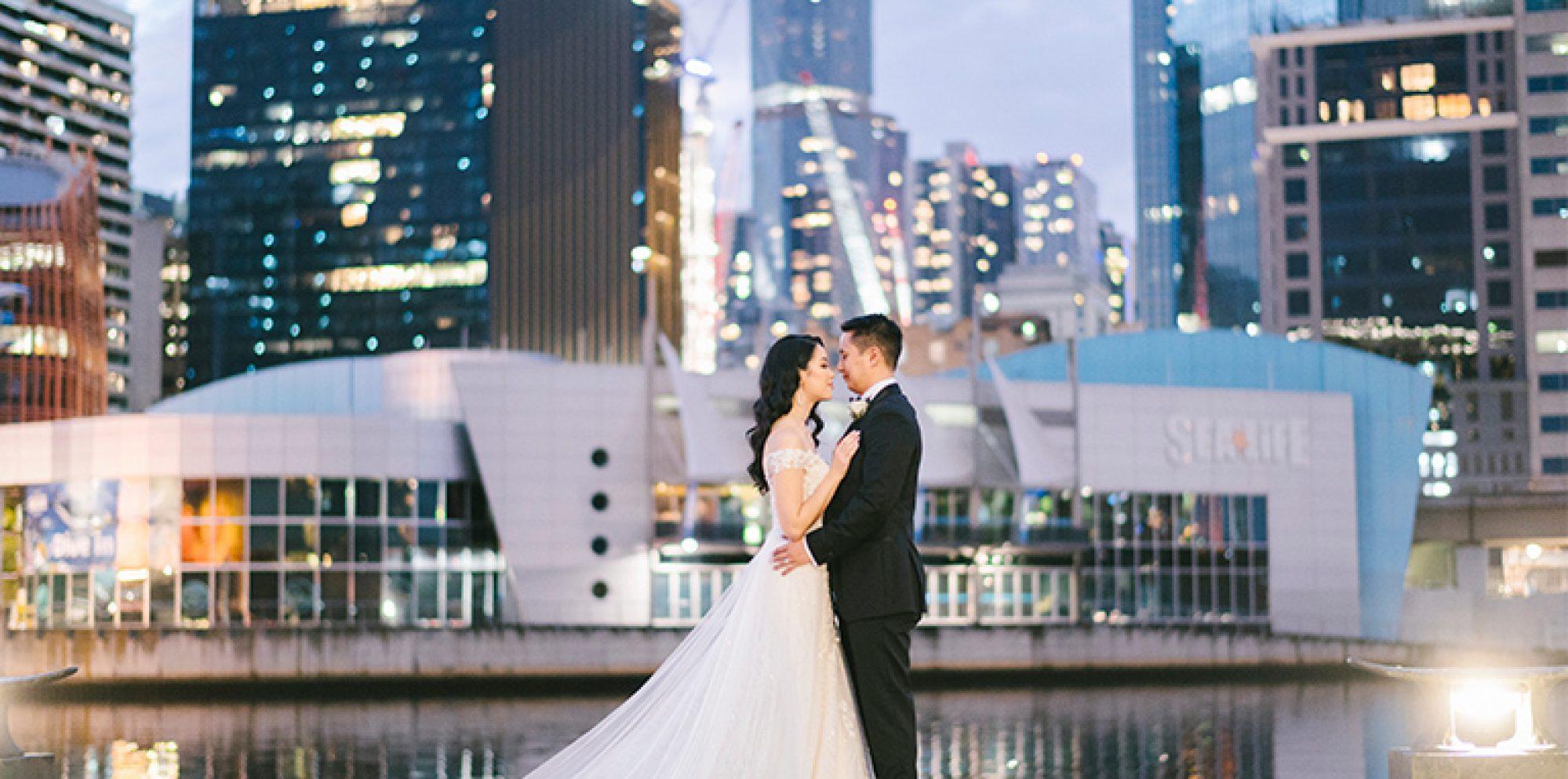 Liz & anh wedding photography @ crown aviary