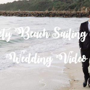 Zoe & ali mornington wedding videography @ safety beach sailing club