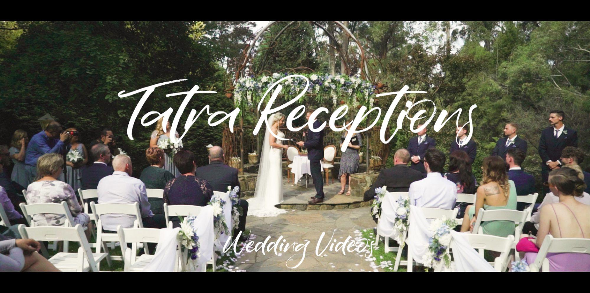 Kelly & matt wedding video@ tatra receptions