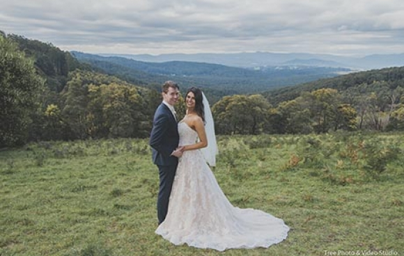 Lyrebird falls wedding video | adrianna & mark