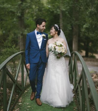 Sammi and frank | chateau wyuna wedding