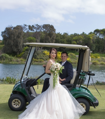 Ann & bryce | eagle ridge golf club mornington peninsula