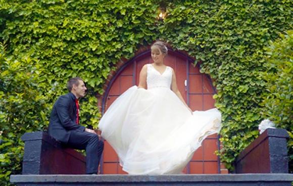 Joanna & matt | avalon castle wedding video