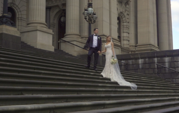 Matthew and analeyse | leonda by the yarra wedding video