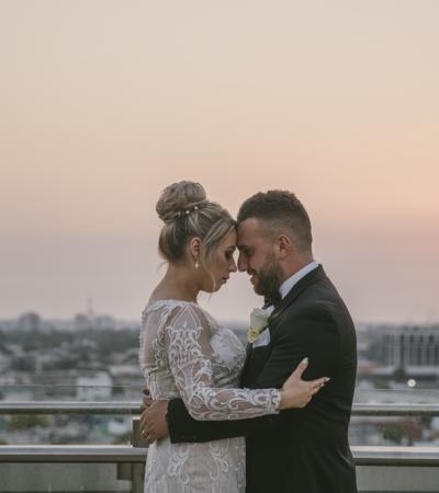 Stephanie & luke | luminare wedding
