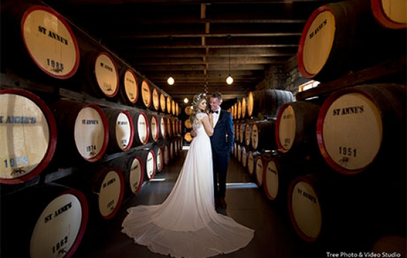 St. anne's winery wedding video | siobhan & nathan