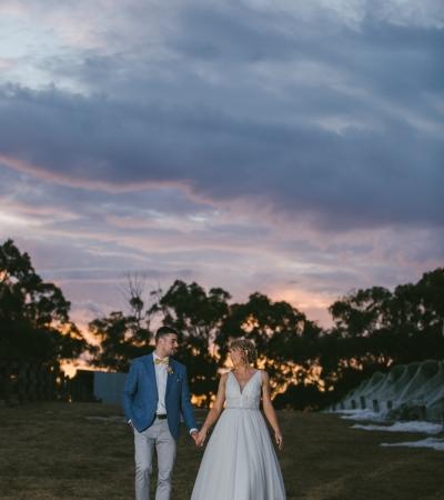 Natalie & michael | yarra ranges estate
