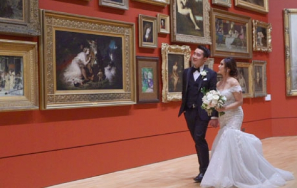 Kim &#038; ryan | <span>ngv</span> wedding video melbourne